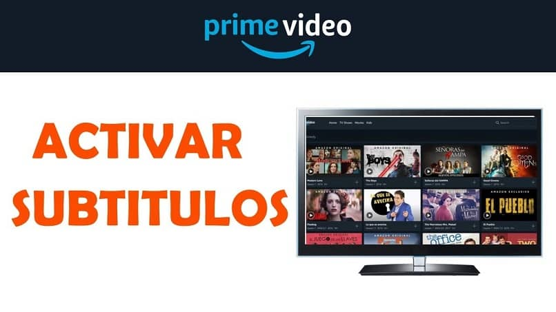 activar subtitulos idiomas amazon prime video
