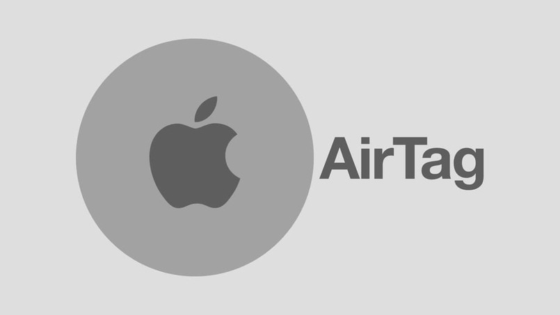 airtag apple logo