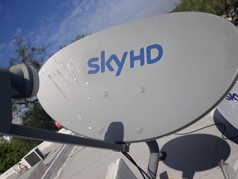 antena satelital sky