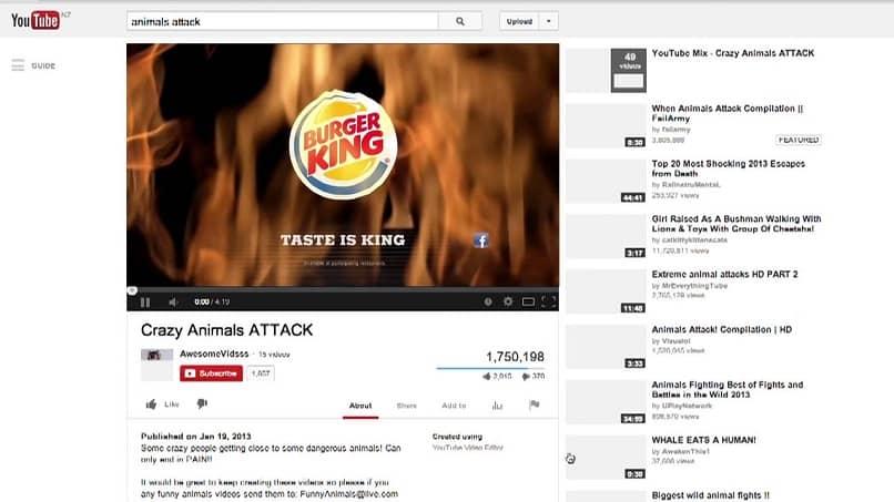 anuncio en youtube