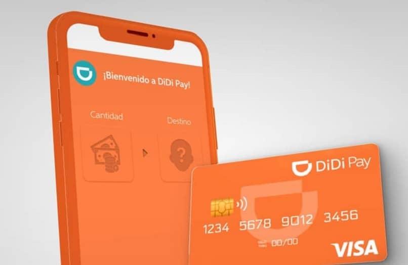 telefono tarjeta con aplicacion didi pay