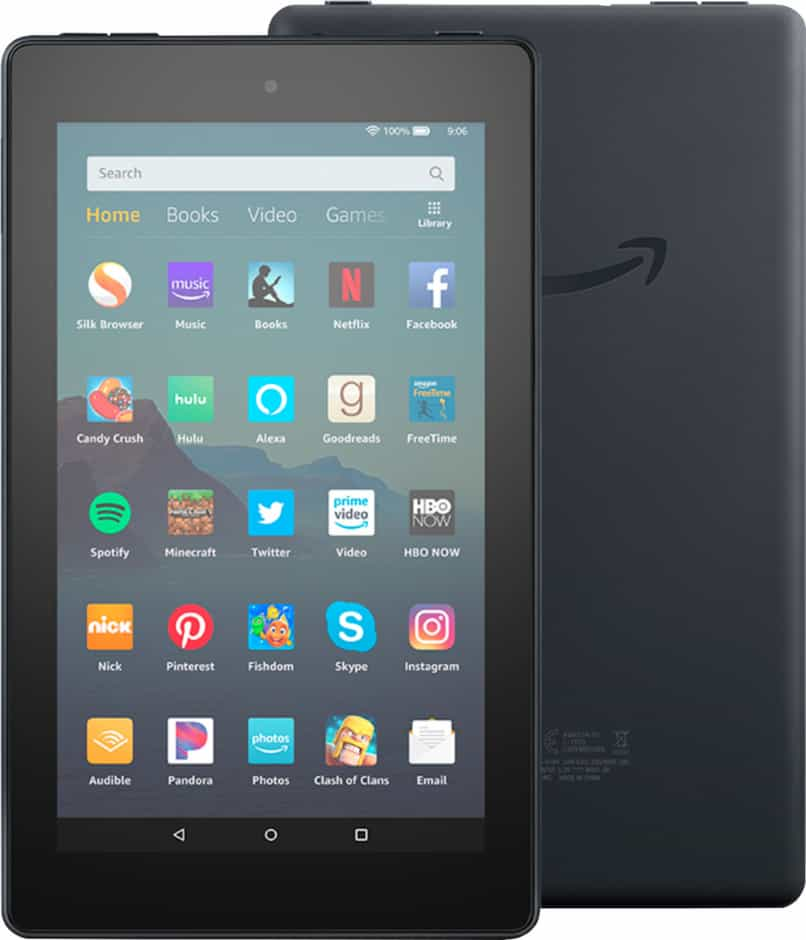 administrar apps de amazon kindle fire