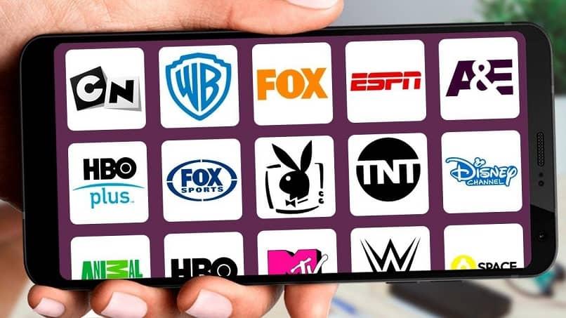 telefono con canales de tv
