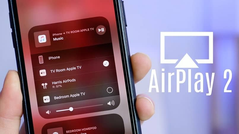 aplicacion airplay para sistemas ios de iphone