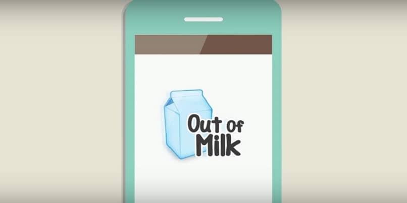 aplicacion movil out of milk