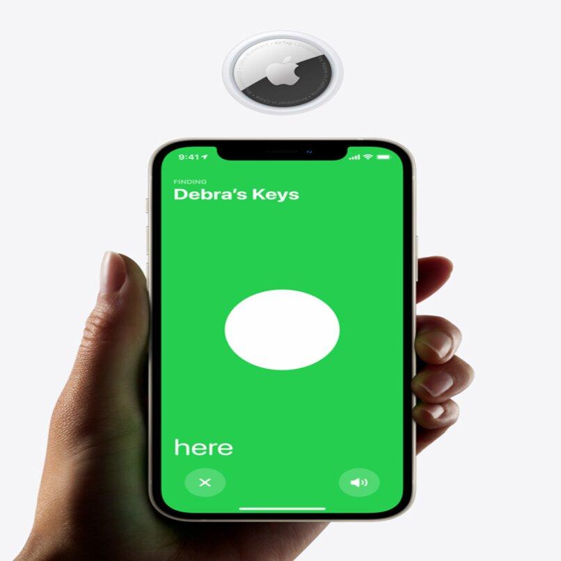 airtag bateria iphone