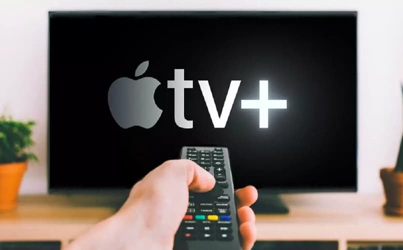 apple tv en televisor