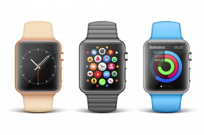 relojes inteligentes colores