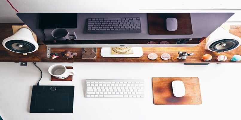 escritorio de articulos apple