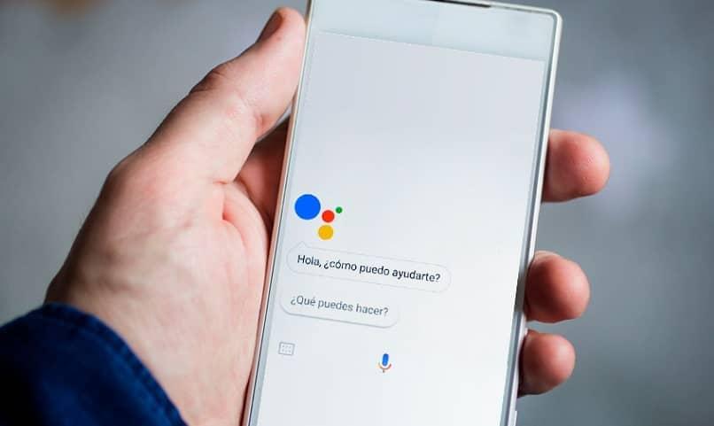 asistente voz ok google pregunta como puedo ayudarte