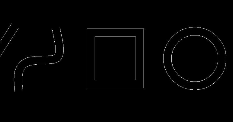 lineas paralelas de autocad