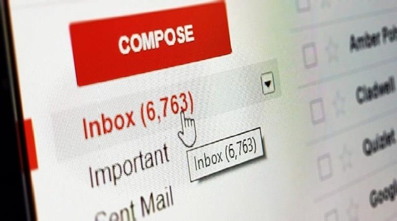 imagen de la bandeja de entrada gmail