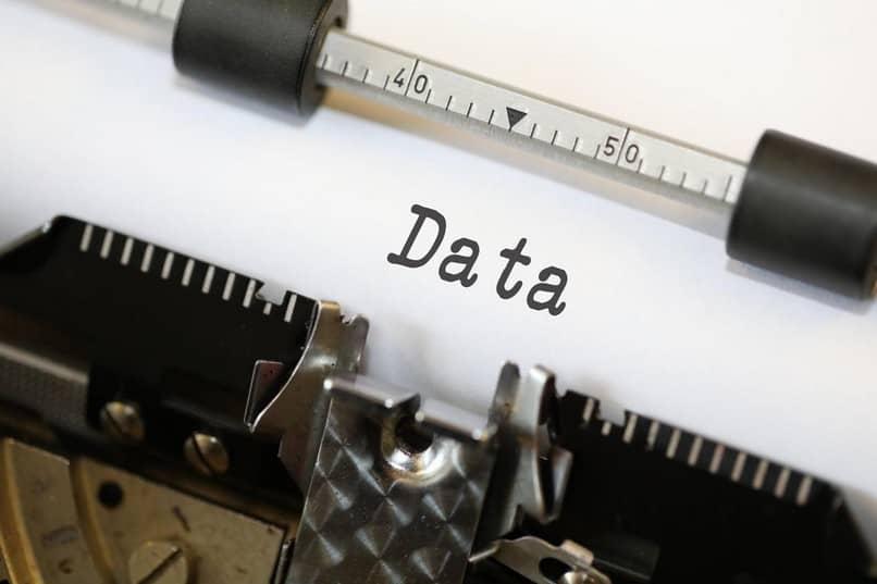 datos informacion