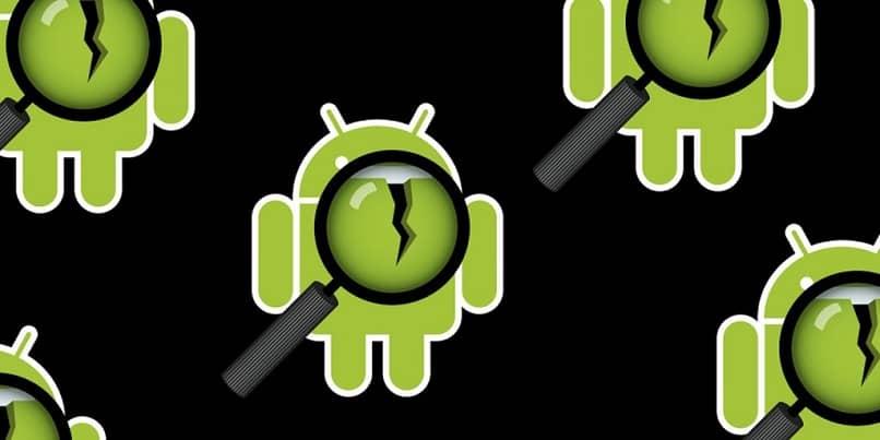 lupa buscador roto error en android