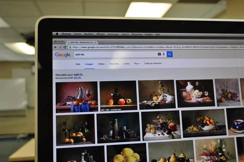 buscar una imagen por colores en google