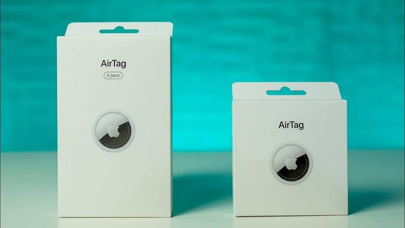 caja airtag dispositivos