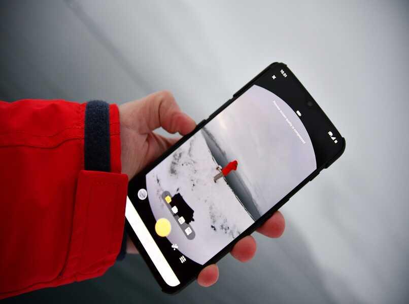 camara en modo 360 de android