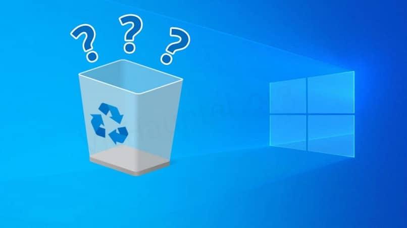 cambiar la papelera de reciclaje en windows