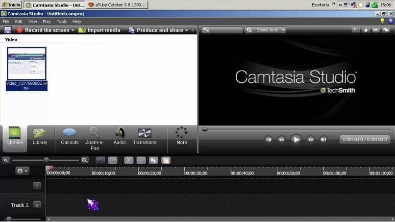 efectos videos camtasia studio