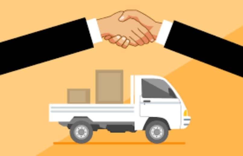camion carga productos