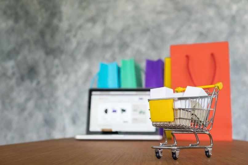 miniatura de carrito de compras