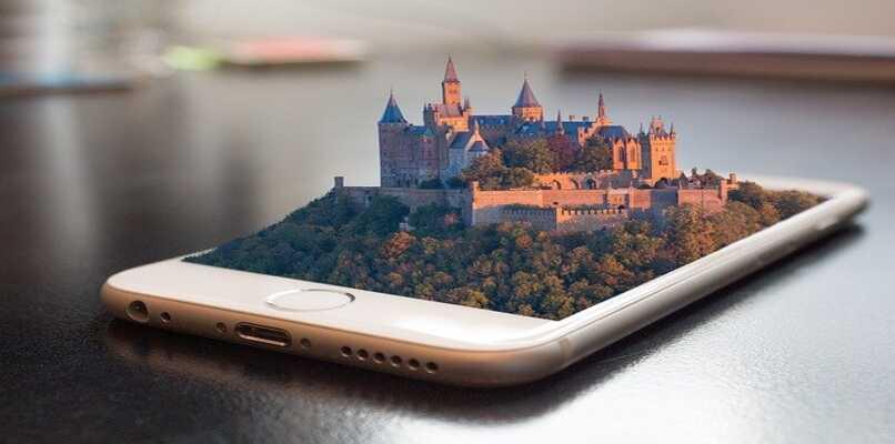 castillo saliendo del iphone