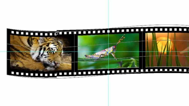 tutorial sencillo photoshop para crear tira de pelicula 3d