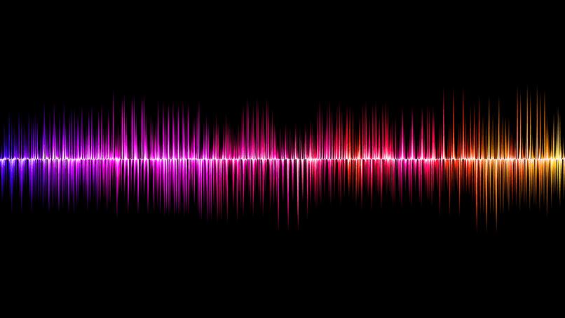 ondas sonoras de dictado de voz por comando iphone