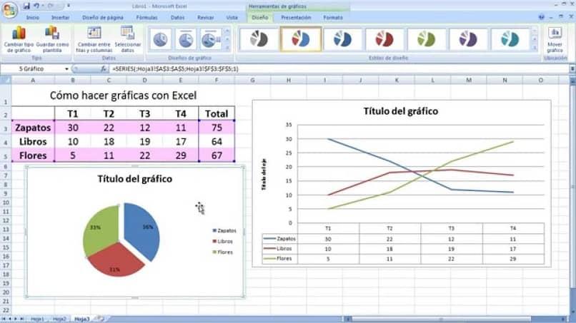 como hacer un grafico en excel