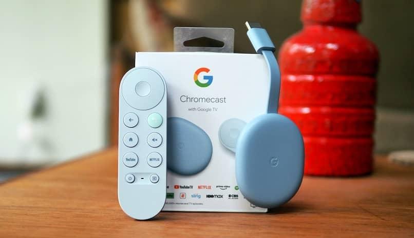 usar un dispositivo chromecast