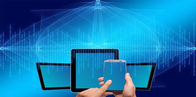 tablets y telefonos conectados