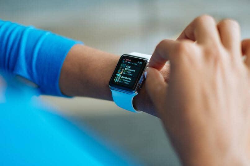 smartwatch configuracion usuario