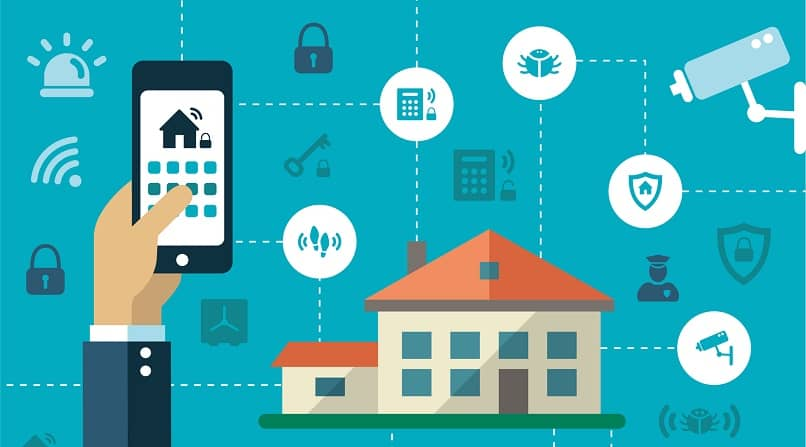 smartphone controlar funciones hogar