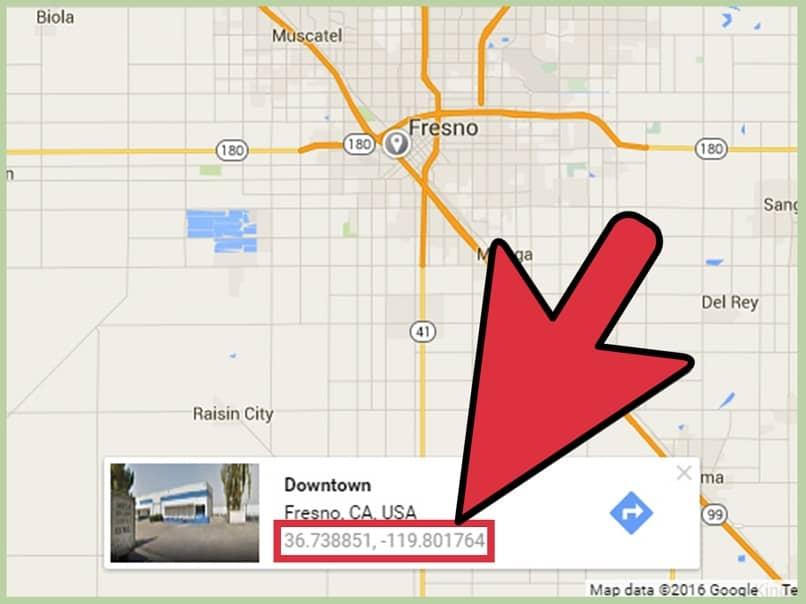obtener coordenadas de mi domicilio con google maps