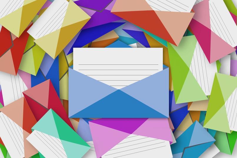 correos electronicos de muchos colores