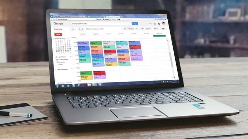 planificar horario en google calendar