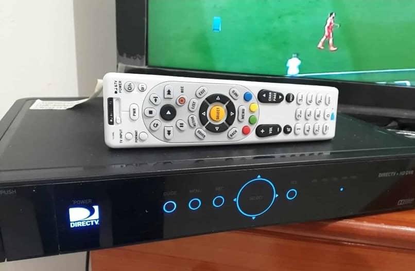 directv decodificador y control remoto