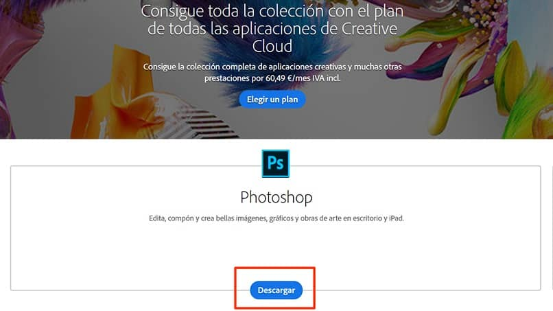 descargar photoshop oficial