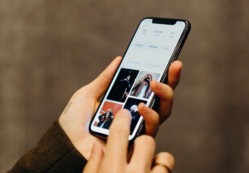 buscar imagenes en el telefono