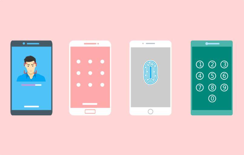 dibujo pantalla de bloqueo en smartphones