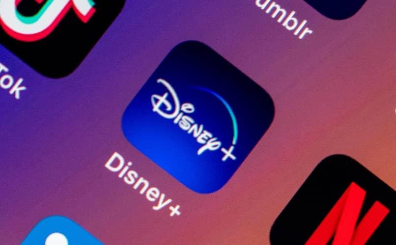 icono app disney plus movil