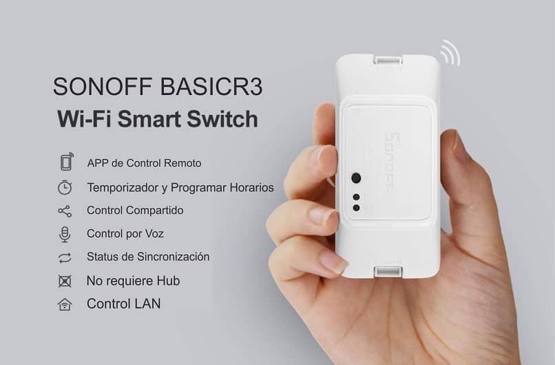 dispositivo inteligente hogares