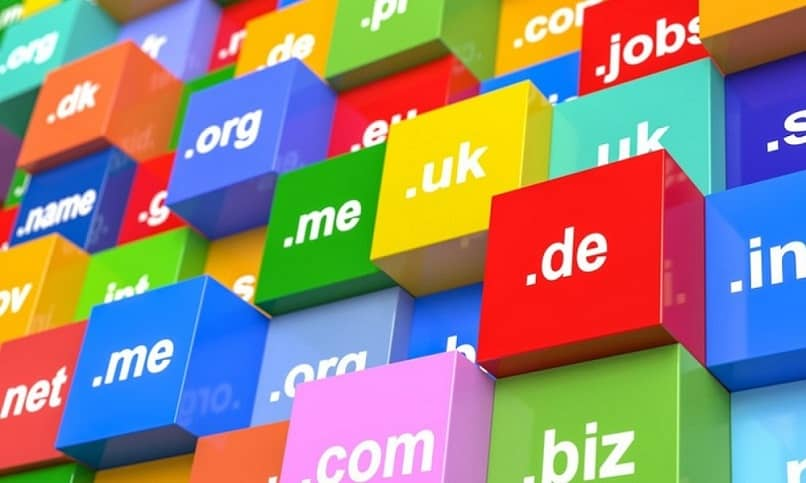 different internet domains