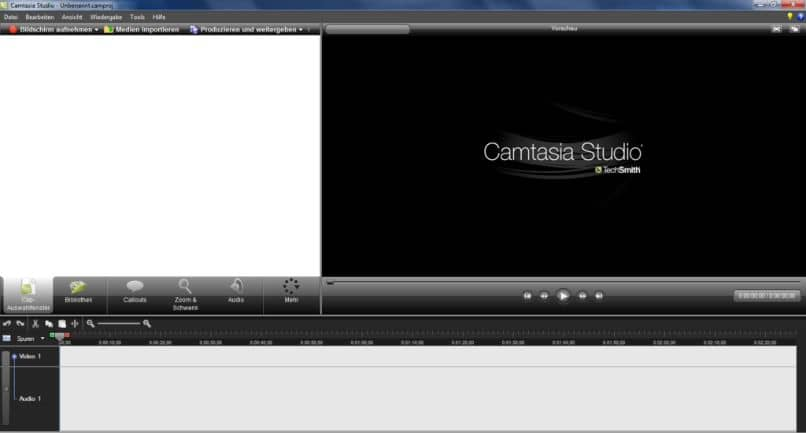 edicion videos camtasia studio guardar proyecto