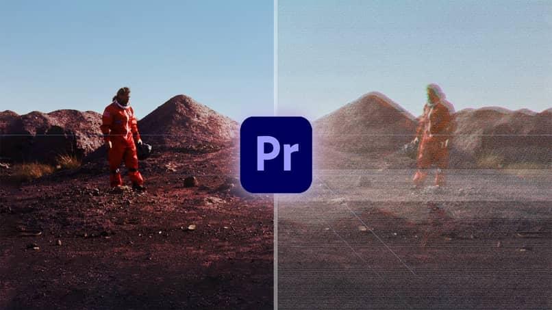 efecto glitch en premiere pro