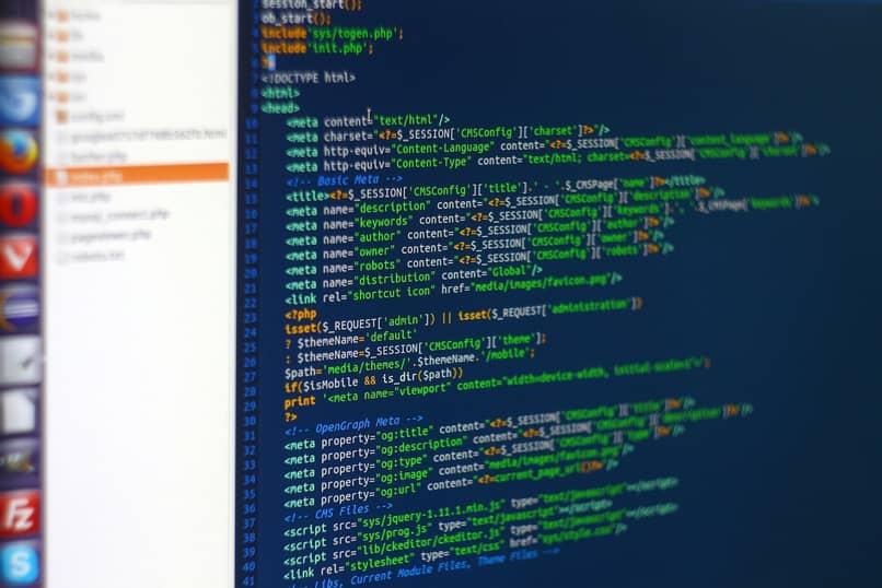 codigo de programacion web