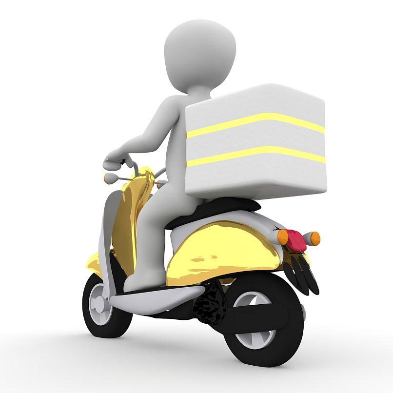 entrega de delivery