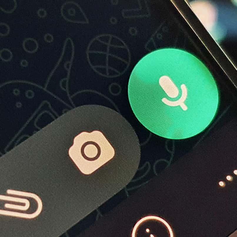 send a voice note on WhatsApp