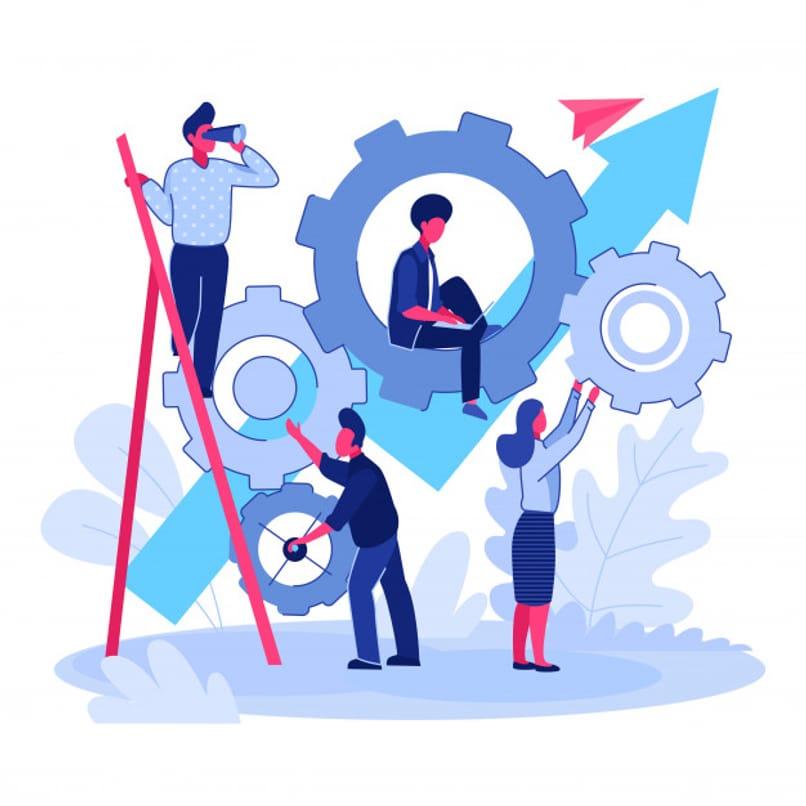 personas trabajando en equipo
