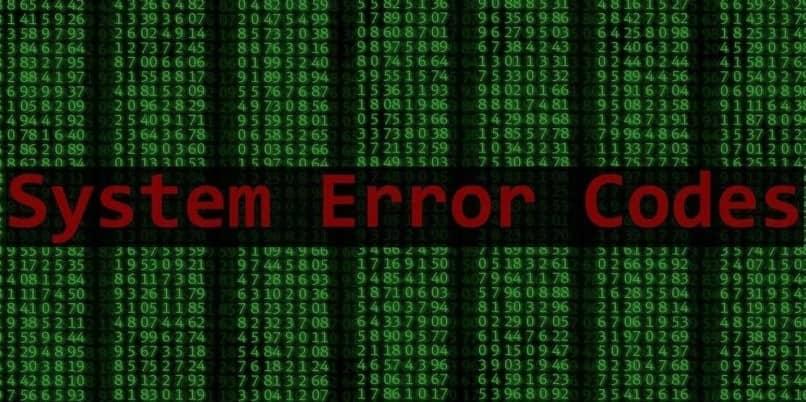 error sistema